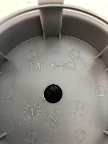Tires & Wheels Center Caps Black Rhino CAP M 963 Silver