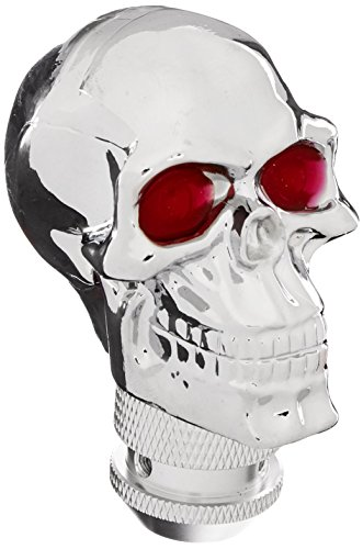Pilot Automotive PM-2285 Chrome Skull Shift Knob