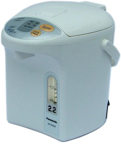 Panasonic NC-EH22PC Water Boiler 2.3-Quart with Temperature Selector by Panasonic