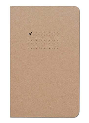Northbooks 5x8 Tear Away | 96 Dot Grid Perforated Pages | Made in - Perforated Tear