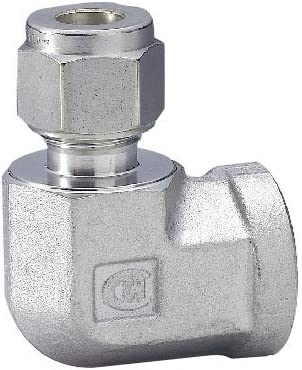 ハイロック社 ハイロック チューブ継手 メスエルボ チューブ外径 10 ネジRc(PT)3/8 CLF10M-6R