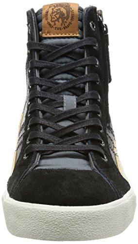 Diesel Mens D-velows D-string Plus Mono Sneaker Castlerock / Nero
