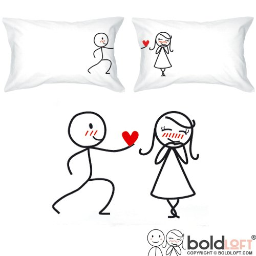 Couple pillow for boyfriend gifts
