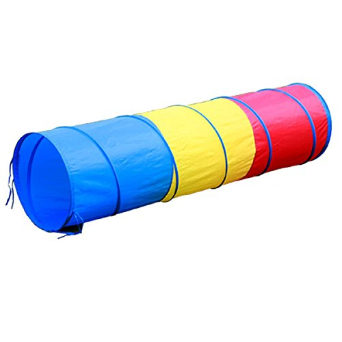 Kids Indoor Pop Up Play Tunnel,PortableFun Children Play Tent Tube,6 Feet,Perfect Outdoor Toddler Toys,71