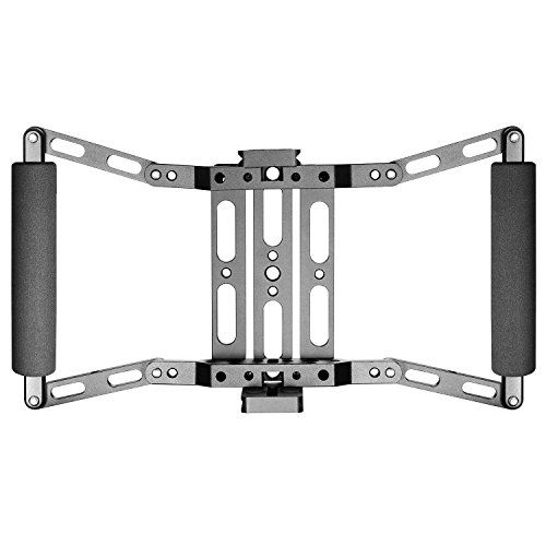Neewer Director's Monitor Cage for 4 inch/5 inch/7 inch Camera Field Monitor Such as Neewer NW759/74K/760 Feelworld FW759/759P/760/74K Aputure Lilliput Blackmagic Atomos Pangshi Ikan ProAm and Others by Neewer