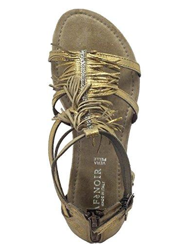 Elija A Mejor CAF NOIR GM634 sandalias de color topo mujer con flecos correas de diamantes de imitación 38 Comprar descuentos baratos Finishline de venta 2018 Nuevo Falso 69JHF5DKBL