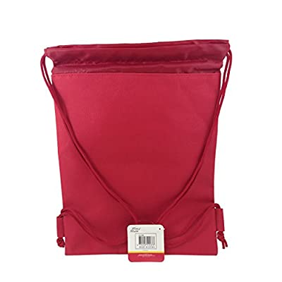 Disney Mickey & Freinds Drawstring String Backpack School Sport Gym Tote Bag: Clothing