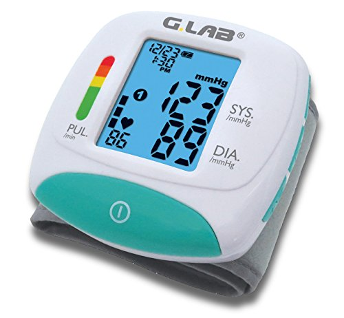 G.LAB Digital Automatic MD2222 Wrist Cuff Blood Pressure Monitor ()