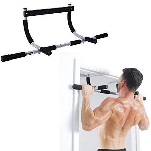 AYNEFY Deur Pull Up Bars, Chin Up Bar Deur Frame Deur Pull Up Bar Heavy Duty Oefening Fitness Extra Brede Workout Bar