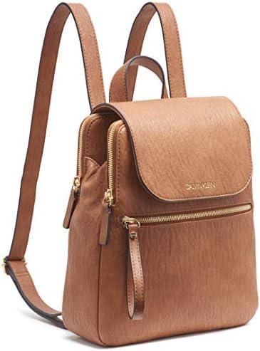 Calvin Klein Elaine Bubble Lamb Novelty Key Item Flap Backpack