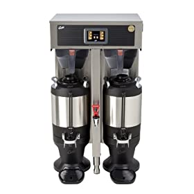 Wilbur Curtis G4 ThermoPro Twin Coffee Brewer, 1.5 Gallon – Commercial Coffee Brewer  – G4TP2T10A3100 (Each)