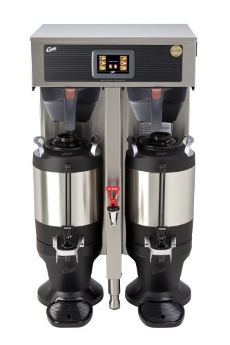 Wilbur Curtis G4 ThermoPro Twin Coffee Brewer, 1.5 Gallon - Commercial Coffee Brewer  - G4TP2T10A3100 (Each) by Wilbur Curtis