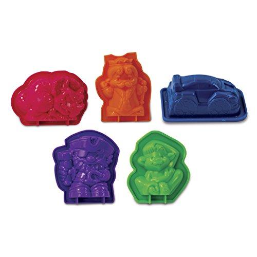 Kinetic Sand Boy's Wacky-Trinities Theme Accessory Pack