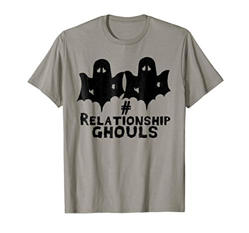 # Relationship Goals Ghouls Funny Halloween Couple Shirt