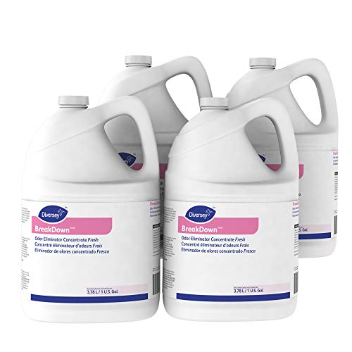 Diversey Breakdown Odor Eliminator - Fresh Scent - 1 Gallon Concentrate, 4 Pack (Packaging May Vary) by Diversey (Image #6)