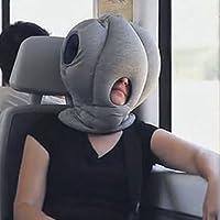 Generic Soft Ostrich Rest Pillows Headrest Sleeping Helper by Generic