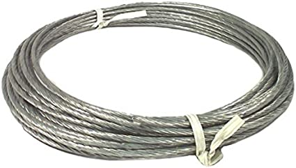 1000/' Box 6//20 Plastic Coated Guy Wire 20 Gauge Cable for Antenna Mast Guying