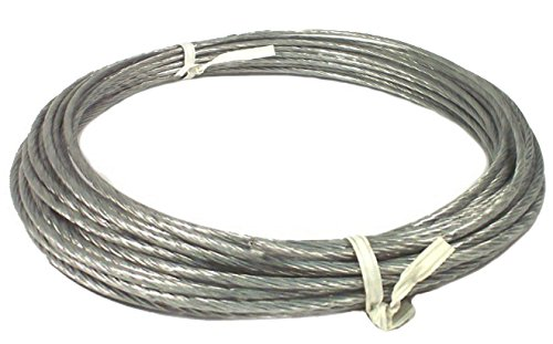 Guy Wire (50' Hank of 6/20 Plastic Coated Guy Wire for Antenna Mast - 20 Gauge - Down Guy)