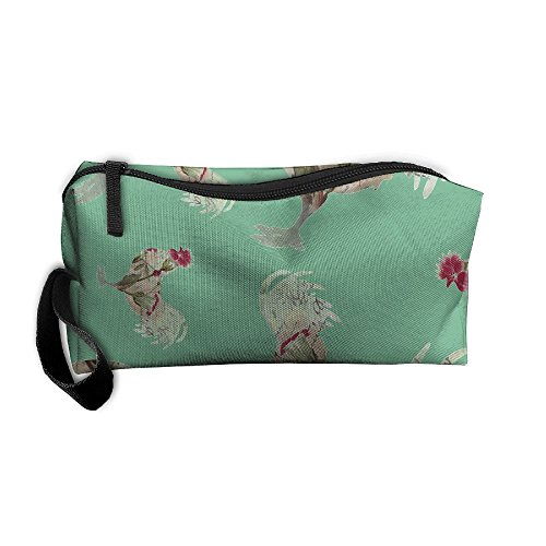 Rooster Retro Unisex Portable Make-up Makeup Bags Sewing Kit Medicine Bags For Travel Camping