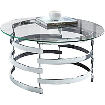"Steve Silver Company Tayside Cocktail Table, 35"" W x 35"" D x 18"" H"