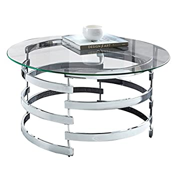 "Steve Silver Company Tayside Cocktail Table, 35""W x 35""D x 18""H"