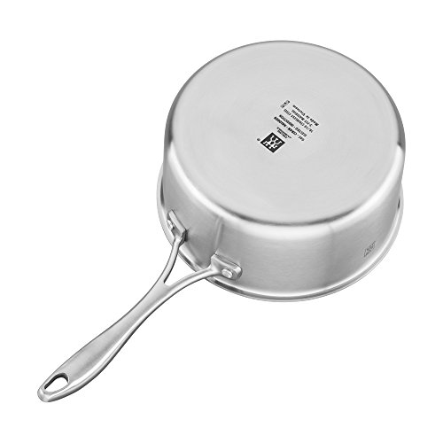 ZWILLING Spirit 3-ply 3-qt Stainless Steel Ceramic Nonstick Saucepan