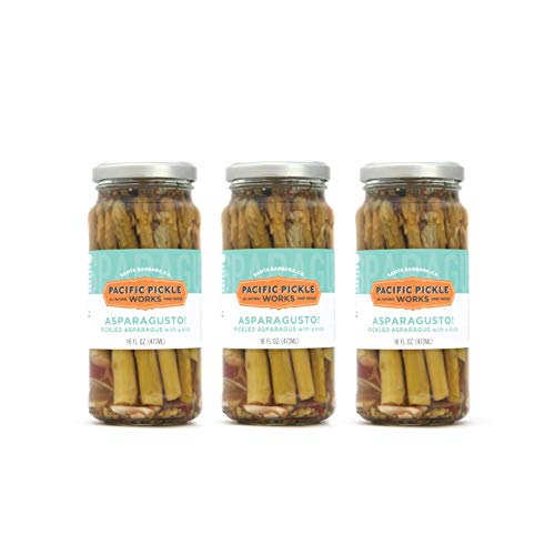 Asparagusto! (3-pack) - Spicy pickled asparagus spears 16oz