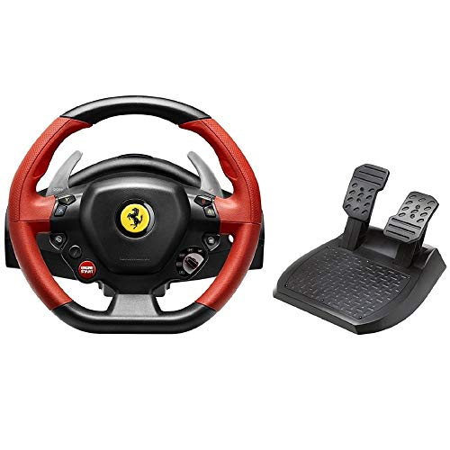pc steering wheel with pedals - 4