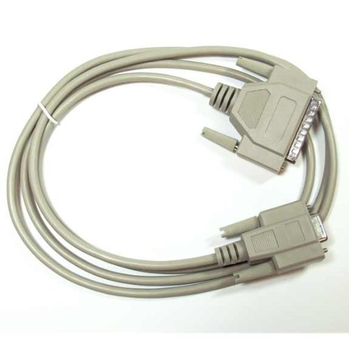 SF Cable, 1 ft DB9 Female to DB25 Male Modem Cable
