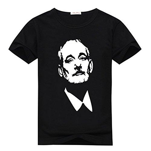 sandiy-short-sleeve-crew-neck-bill-murray-t-shirt-mens-l-black