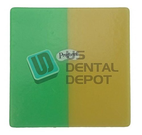 PRO-FORM - DUAL-COLOR Mouthguards Laminate Green/Yellow 5x5 113506 Us Depot