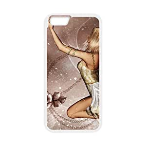 beautiful girl 3d iPhone 6 4.7 Inch Cell Phone Case White PSOC6002625686953