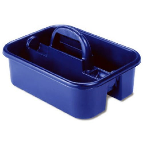 Price comparison product image Akro-Mils 09185 BLUE Plastic Tote Caddy, 14-Inch by 18-Inch by 9-Inch, Blue