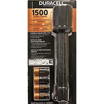Duracell Durabeam Ultra 1500 Lumens Flashlight With 4