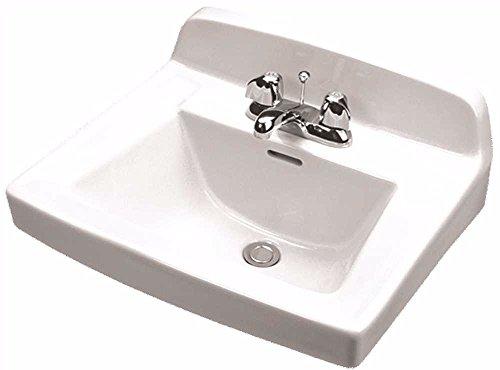 Gerber Plumbing 12654 Gerber Monticello Wall Hung Bathroom 20 In. x 18 In. - 12454 ()