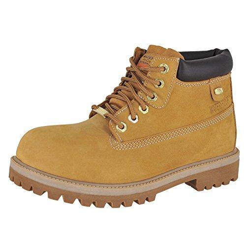 Skechers Mens Sergeants - Verdict Rain Boot, Wheat, Size 10.5 by Skechers