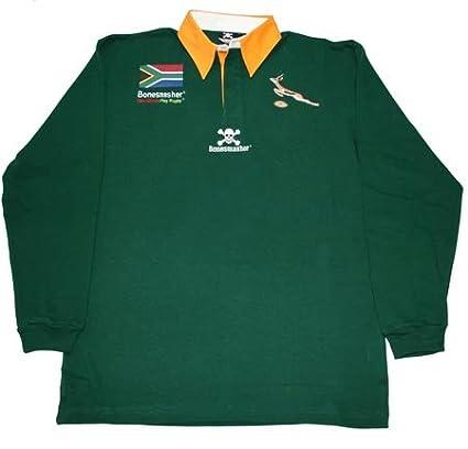 Süd Afrika Rugby Hemd Langarm Bonesmasher Rugby Wear
