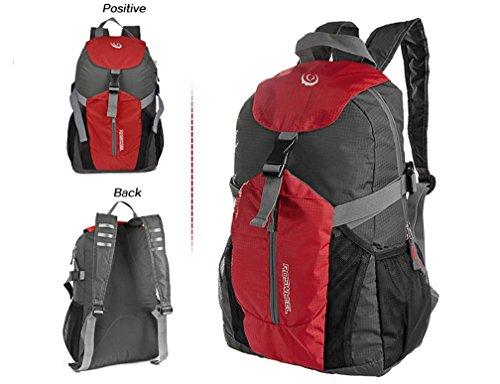 ArcEnCiel(TM) Lightweight Bicycle Cycling Travel Waterproof Foldable Backpack Bag