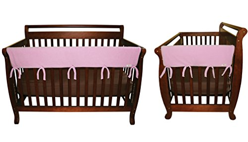 Pink Lab Crib Set Trend - CribWrap Crib Wrap 3PC Rail Cover Set By Trend Lab - 1- 51