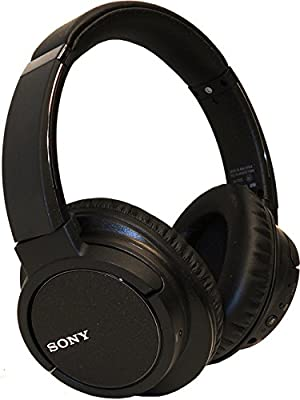 Sony MDR-ZX780DC Bluetooth and Noise Canceling Headphone With Case - Black (Certified Refurbished)