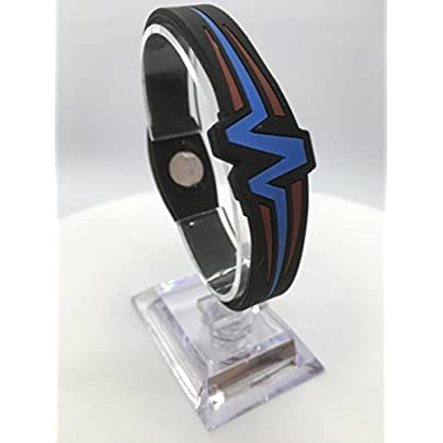Mojo Wristband Double Disc Raptor Black Blue Red inch Estimated Price £35.00 -