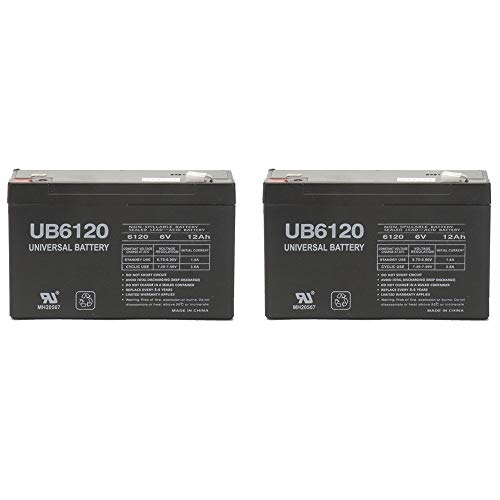 Universal Power Group 6V 12AH F2 IBM UPS OP700i, UPS OP700AVR UPS Battery - 2 - Feeder Ibm