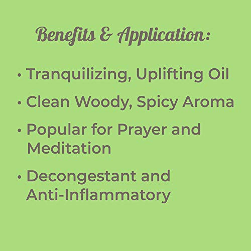 Plant Therapy Frankincense Serrata Essential Oil 10 mL 100% Pure, Undiluted, Therapeutic Grade - incensecentral.us