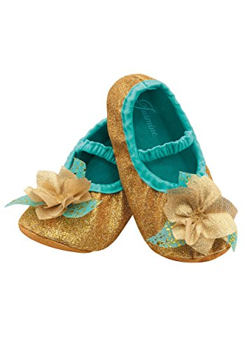 Disguise Costumes Jasmine Slippers, Toddler, Size 6 (Jasmine Toddler Costumes)