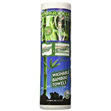 Bambooee Reusable Bamboo Towel (Single roll, each roll comes with 20 sheets of Bamboee Towels