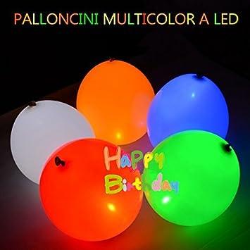5 Zero 10 Stück Luftballons Ballon Leuchtende Led Blinklicht Für
