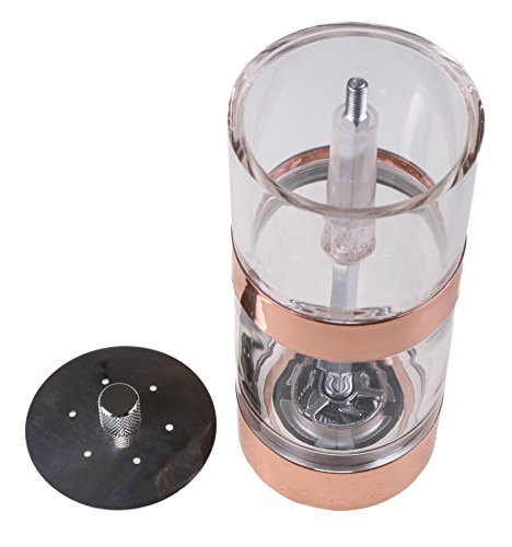 Bargain Copper Salt Shaker and Pepper Burr Grinder 2-In-1 with Zinc Grinder Head opportunity