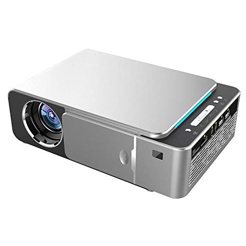TYNEGH 720P LED Projector T6-AD Android System 5G WiFi Support 4K and Red and Blue 3D Video Portable Cinema Projector