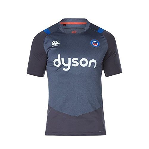 fan products of Bath Rugby Vapodri+ Poly Super Light Tee 17/18 - Nine Iron Marl