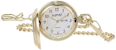 August Steiner AS8019 JFK Coin Quartz Pocket Watch
